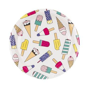 My Little Day IJsjes Borden - 8 stuks - Ice Cream Feestartikelen