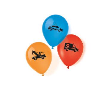 Amscan Redders op de Weg Ballonnen - 6 stuks