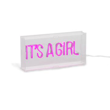 Childhome It's a Girl Neon Verlichting - per stuk - Geboorte Deco