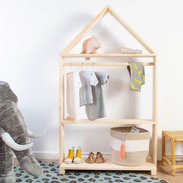 Childhome Kledingrek huisje - per stuk - Kindermeubels