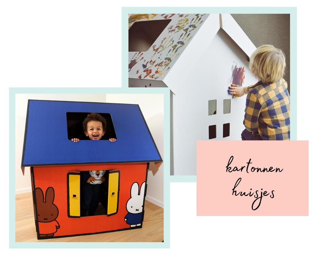 Speelhuisjes van karton - Kinderkamer accessoires