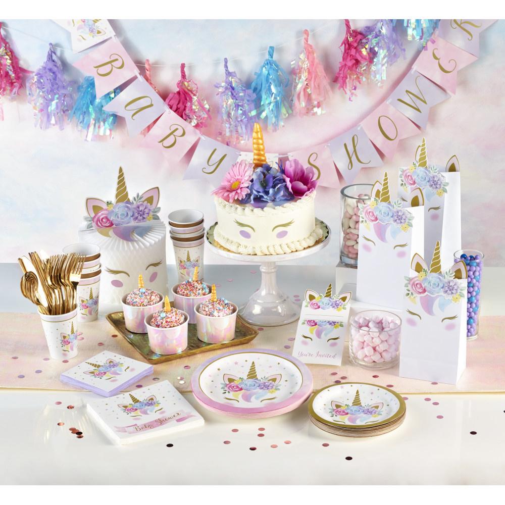 Unicorn feestartikelen en versiering