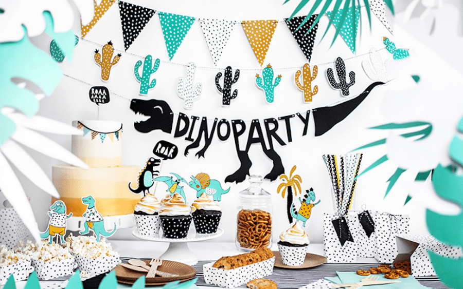 Dino Party van PartyDeco