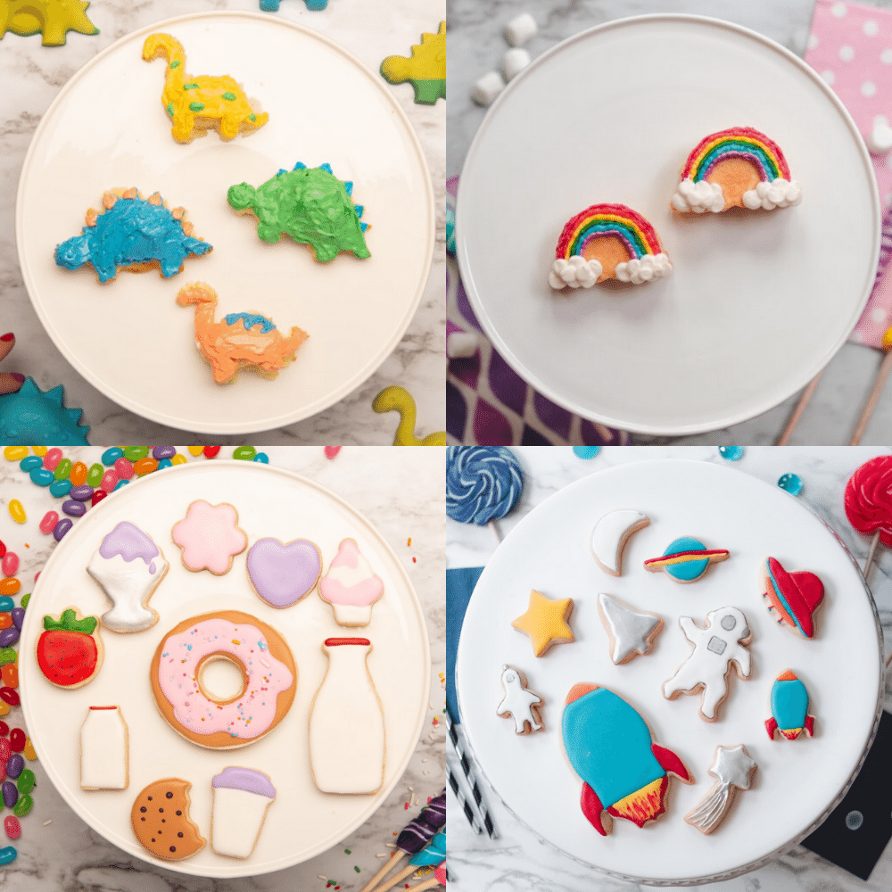 Cakevormen en uitstekers van Handstand Kitchen