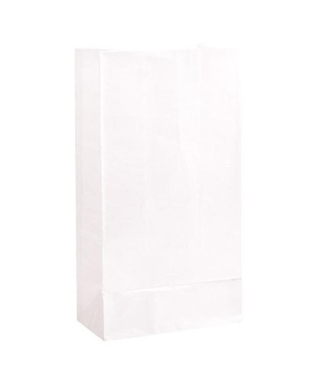 Unique Witte Uitdeelzakjes - 12 stuks - papier