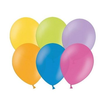 Partydeco Ballonnen Assorti - 6 kleuren - 10 stuks