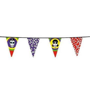 Boland Skull Party Vlaggenlijn - 6 meter