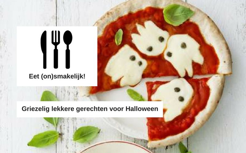 Tips om griezelig lekker te tafelen met Halloween