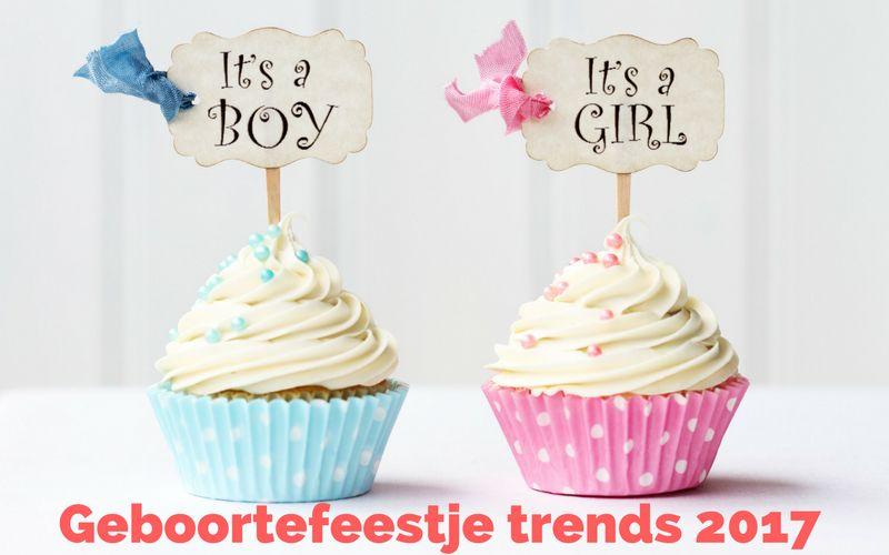 Geboortefeestje trends 2017
