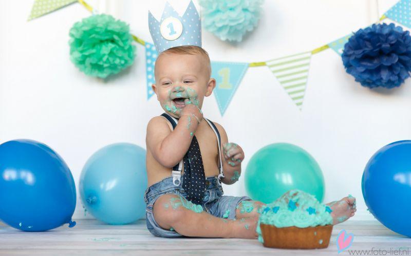 Is je kindje bijna 1 jaar? Tijd om te cakesmashen!