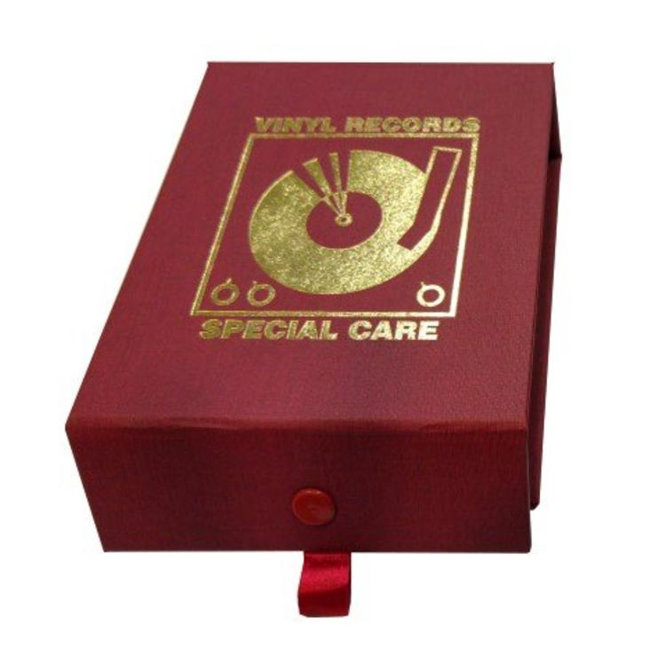 Simply Analog Vinyl Record Cleaning Boxset De Luxe Edition - Red