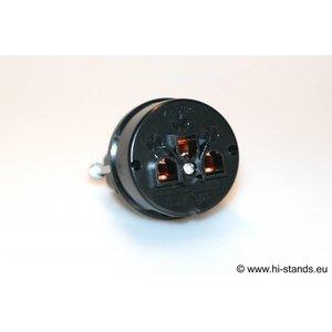 IeGo 8095BK&CT Massive Silver  IEC Plug