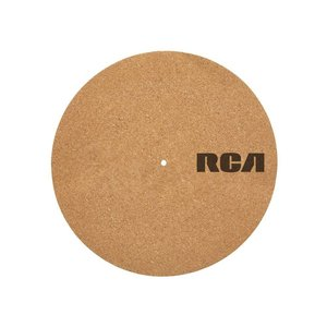 RCA Plattentellerauflage Kork