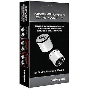 AudioQuest XLR Input Noise-Stopper Caps (2 pieces)