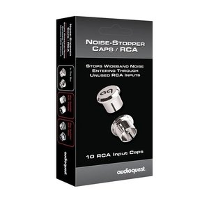 AudioQuest RCA Noise Stopper Caps (10 Pieces)