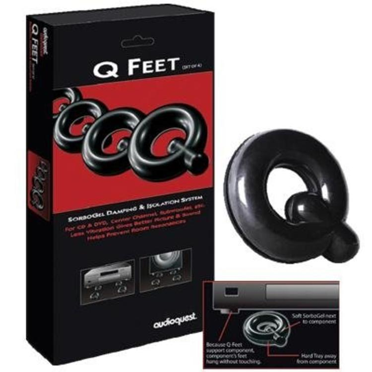 AudioQuest SorboGel Q Feet System (4 Stuks)
