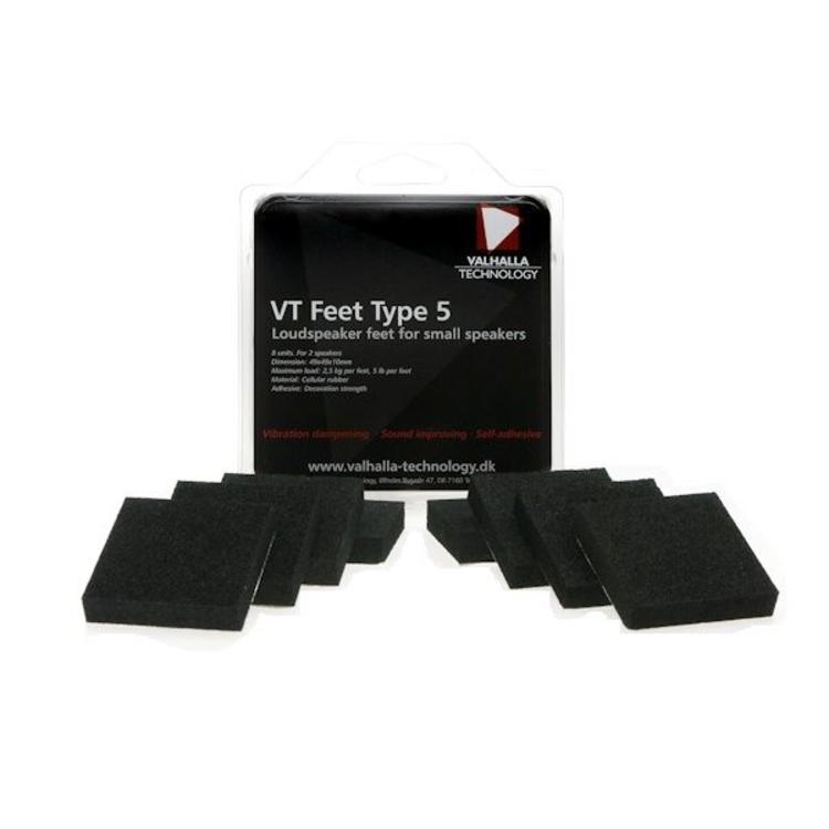 Valhalla Technology Speaker VT feet type 5 (8 Pieces)