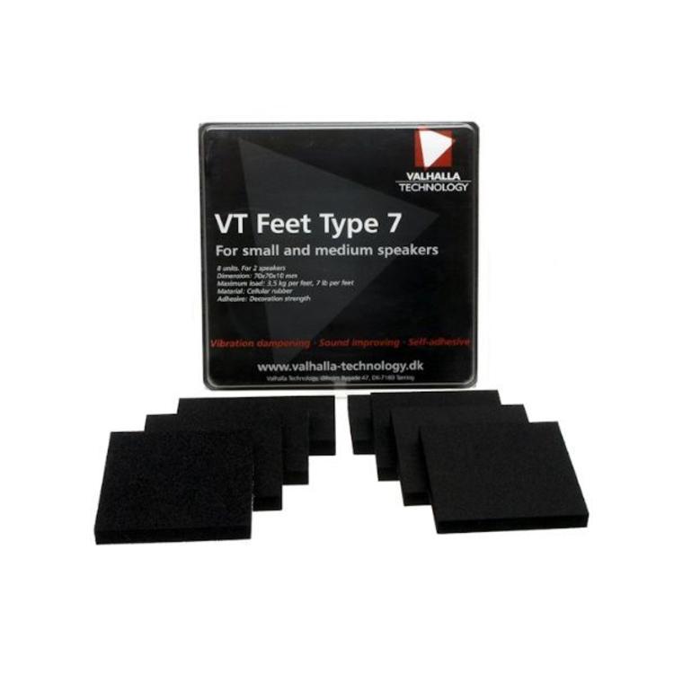 Valhalla Technology Speaker VT feet type 7 (8 Pieces)