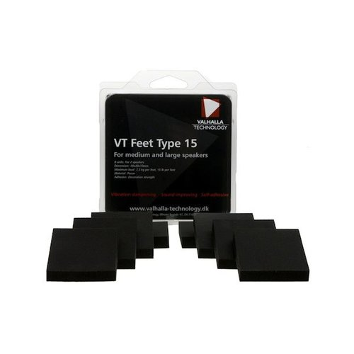 Valhalla Technology Speaker VT feet type 15 (8 Pieces)