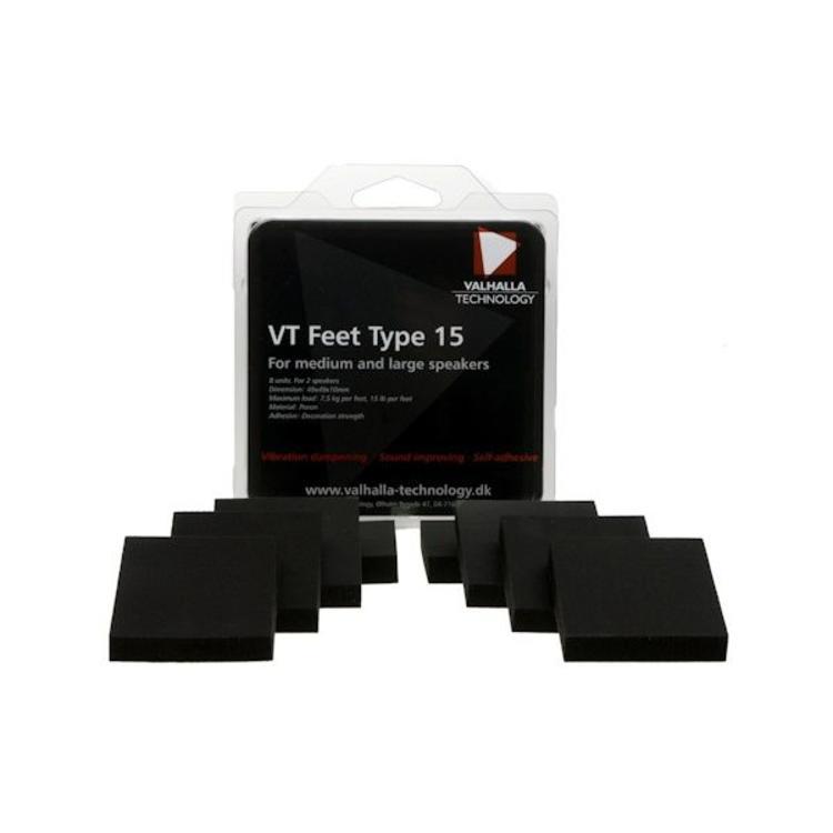 Valhalla Technology Speaker VT feet type 15 (8 Stuks)