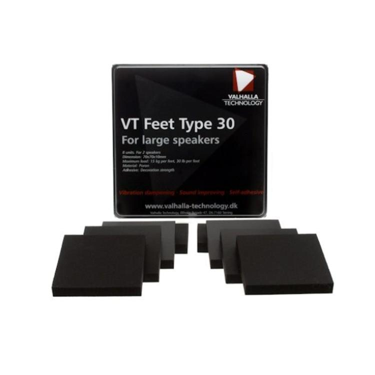 Valhalla Technology Speaker VT feet type 30 (8 Stuks)