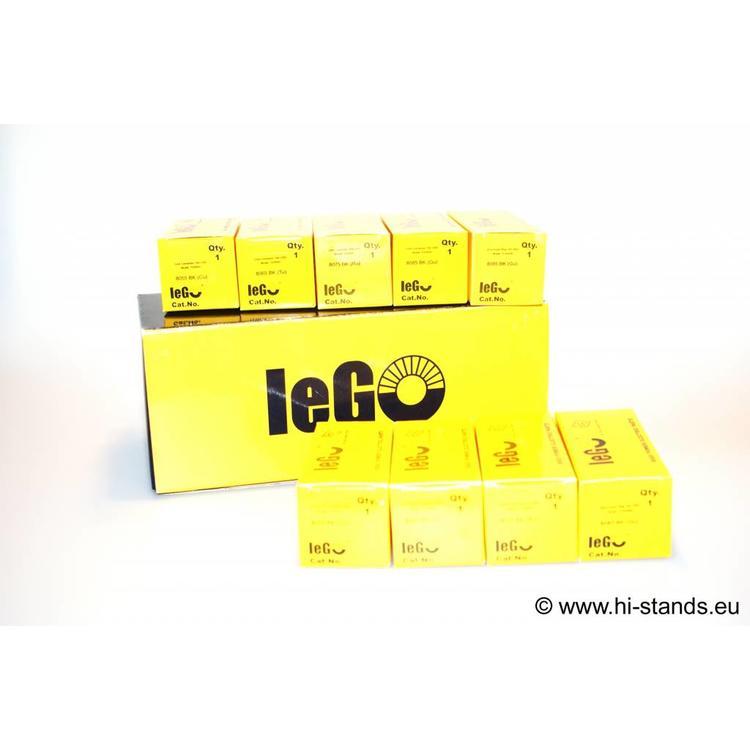 IeGo IEC Plug Silver plated 8065 BK (Tu)