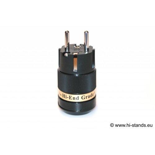 IeGo Schuko Plug Silver plated 8065 BK (Tu)