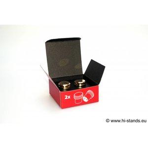 Sieveking Sound XLR caps (Female 2 Stuks)
