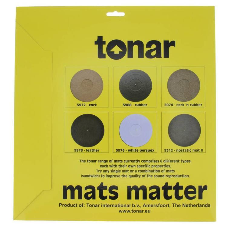 Tonar Cork 'n Rubber Turntable mat 3mm