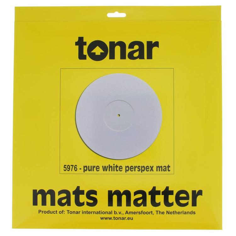 Tonar Pure White Perspex Mat 2mm