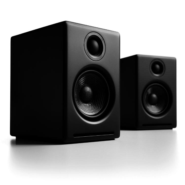 AudioEngine A2 + draadloze luidsprekers (Zwart)