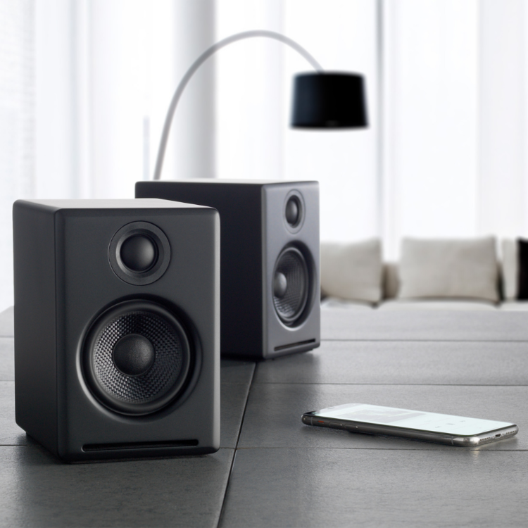 AudioEngine A2+ Wireless Speakers (Black)