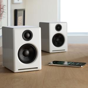 AudioEngine A2 + draadloze luidsprekers (Wit)
