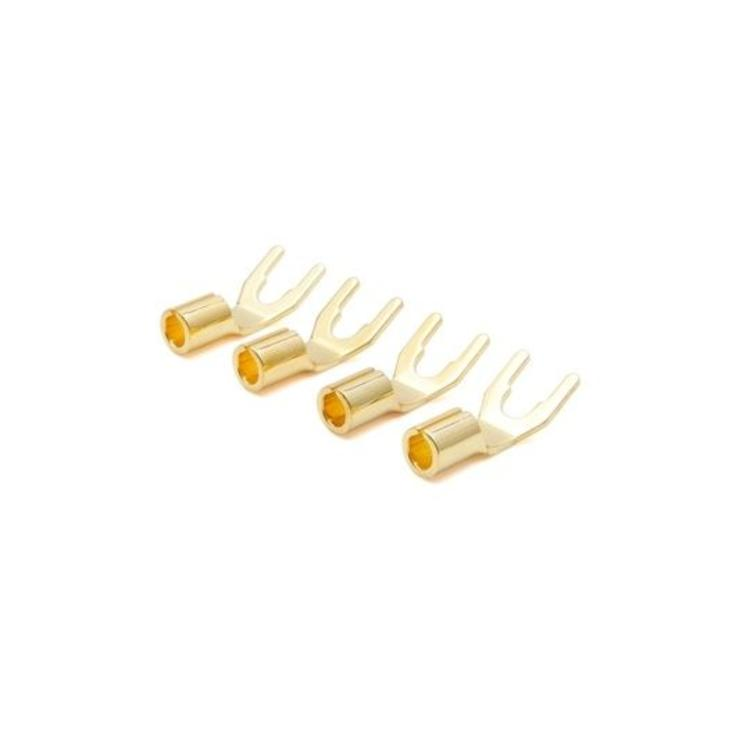 Oyaide GYT Spade, 24K gold (4 Stuks)