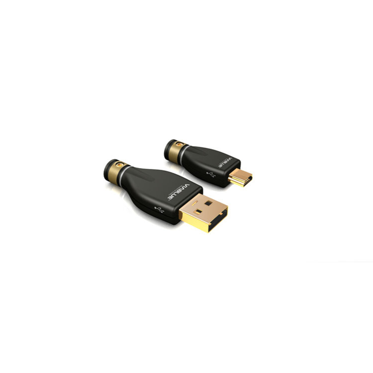 ViaBlue KR-2 Silver USB-Cable Type A/MINI-B