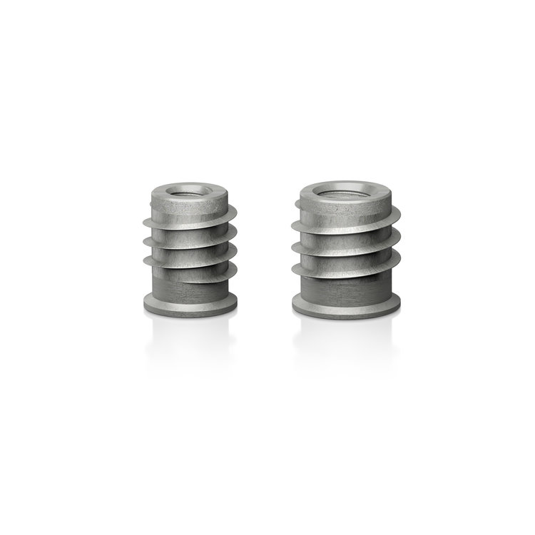 ViaBlue Threaded inserts (4 Pieces)