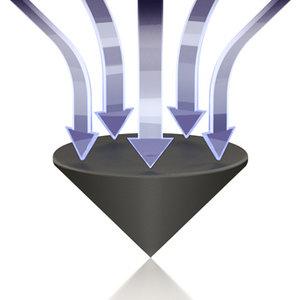 ViaBlue TRI Spikes (Silber)