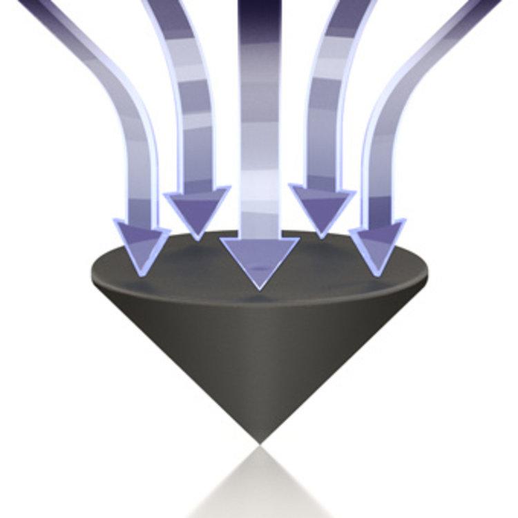 ViaBlue TRI Spikes (Schwarz)