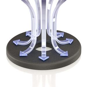 ViaBlue UFO XL Absorber (Silber)