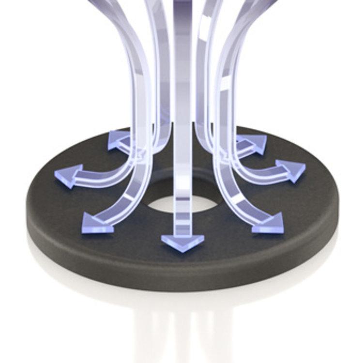 ViaBlue UFO XL-absorber (zwart)