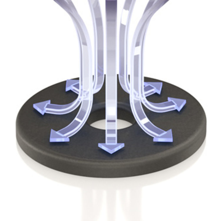 ViaBlue UFO Absorber (Zilver)