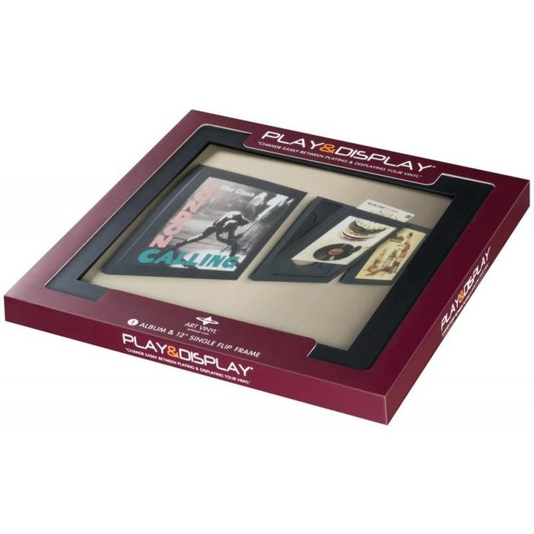 Art Vinyl 1 x Play & Display - Schwarz
