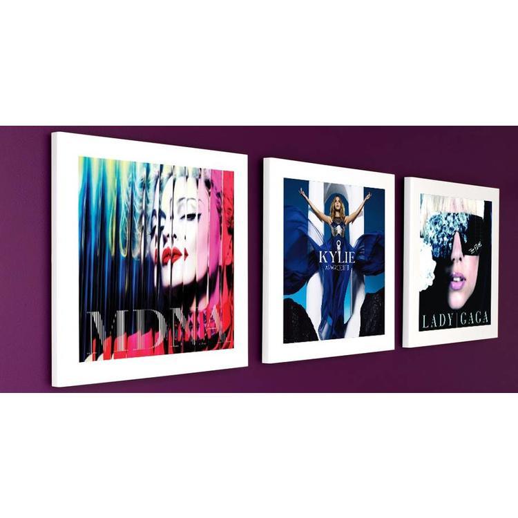 Art Vinyl 1 x Play & Display - White