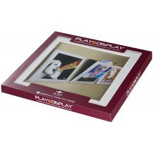 Art Vinyl 1 x Play & Display - White