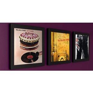 Art Vinyl 3 x Play&Display - Zwart