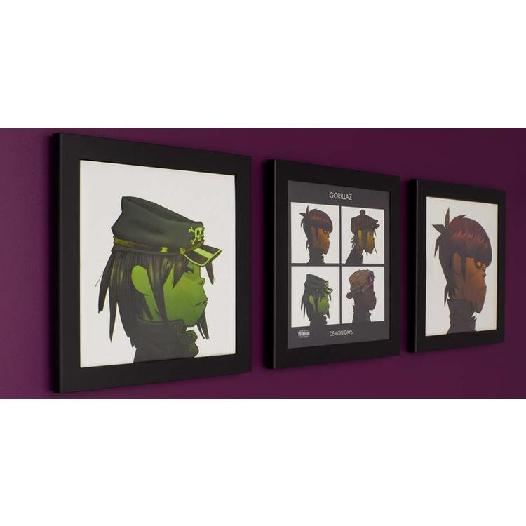 Art Vinyl 3 x Play & Display - Black