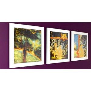Art Vinyl 3 x Play&Display - Wit