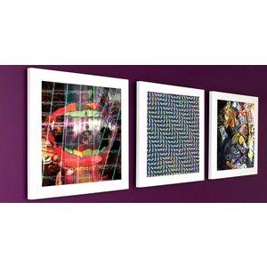 Art Vinyl 3 x Play & Display - White
