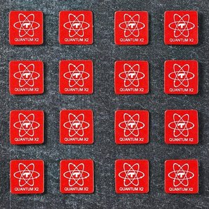 Telos Audio Design Quantum Stickers  Round 5 & Square 6 mm