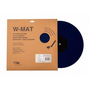 Winyl V-Mat Acryl Donkerblauw-Zwart